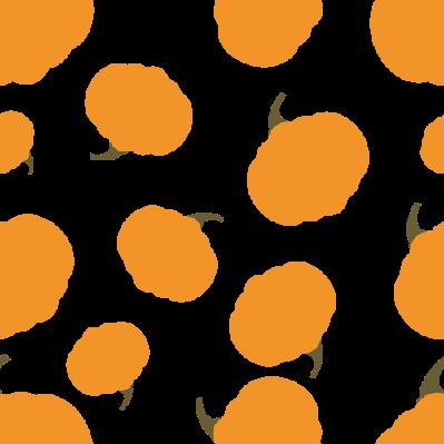 Pattern Silhouette Pumpkin | Clipart