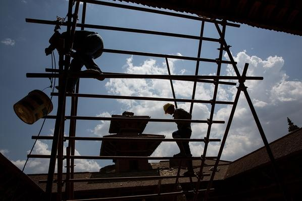The Beginning of Repairs to the Roof of the Patan Museum | Global Oneness Project