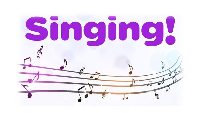 Singing!