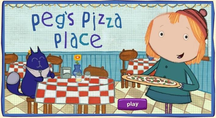 Peg's Pizza Place | Peg + Cat