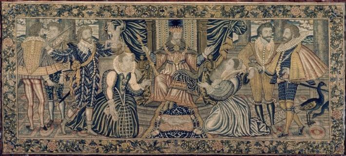 Tapestry depicting the Sacrifice of Isaac