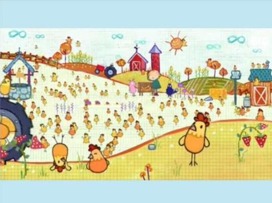 100 Chickens  | Interactive SMART Board Activity