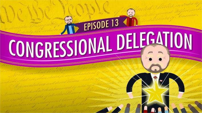Congressional Delegation | Crash Course Government and Politics