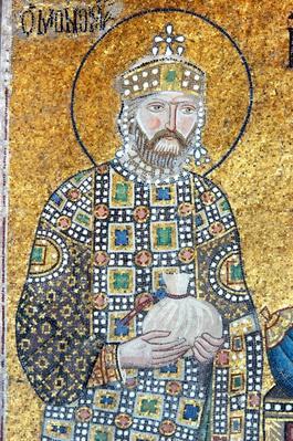 Emperor Constantine IX, Hagia Sofia, Istanbul | World Religions: Christianity