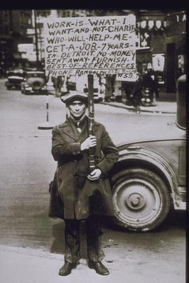 1930, SCENE OF THE DEPRESSION IN DETROIT | The Great Depression | U.S. History