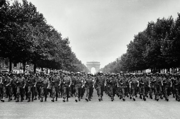 AMERICAN TROOPS, FRANCE, AUGUST 29, 1944 | World War II
