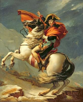 Napoleon Crossing the Alps on 20th May 1800, 1803