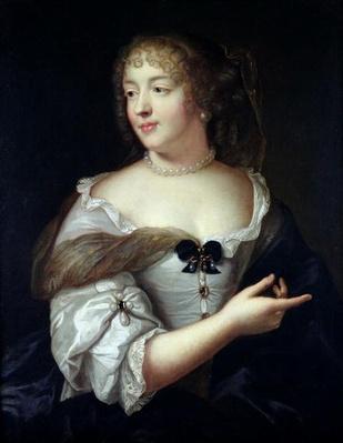 Portrait of Marie de Rabutin-Chantal, Madame de Sevigne