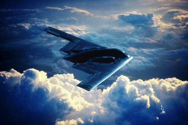USAF/NORTHROP GRUMMAN B-2A STEALTH BOMBER | The Evolution of Military Aviation