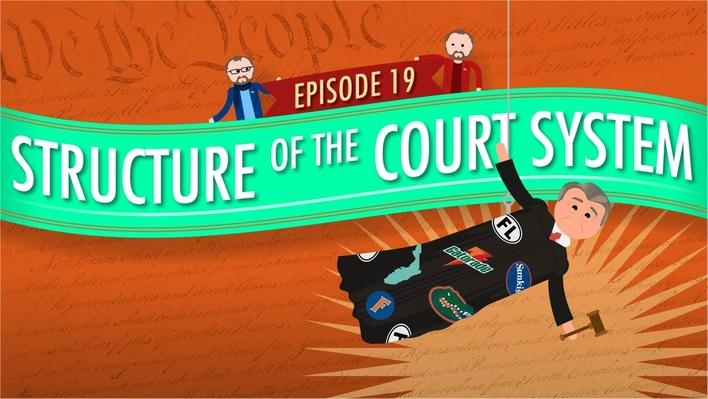 Structure of the Court System | Crash Course Government and Politics