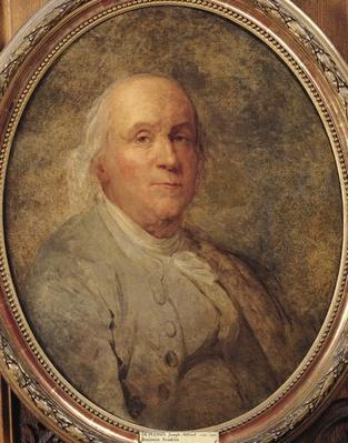 Portrait of Benjamin Franklin, c.1780