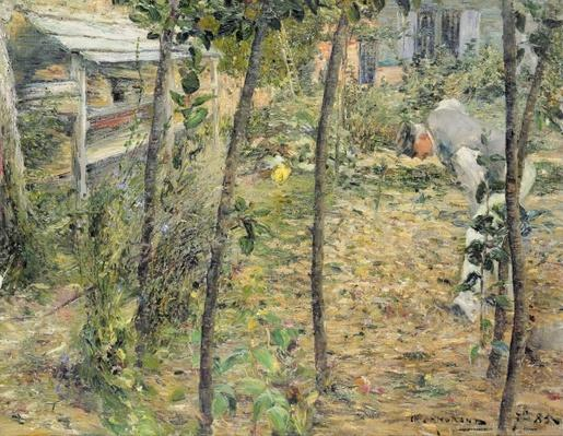 In the Garden, 1885