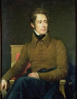Portrait of Alphonse de Lamartine