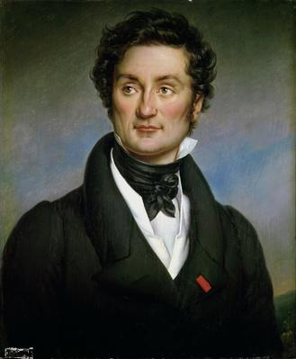 Portrait of Charles Nodier