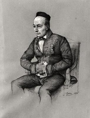 Portrait of Charles Augustin Sainte-Beuve