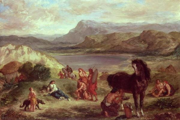 Ovid among the Scythians, 1859