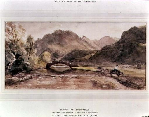Sketch of Borrowdale, 1806, Afternoon