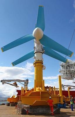 World's Largest Tidal Power Turbine Is Unveiled | Earth's Resources