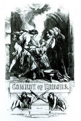 Frontispiece to 'Comedy of Errors'