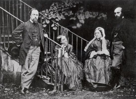 Dante, Christina, Frances and William Rossetti
