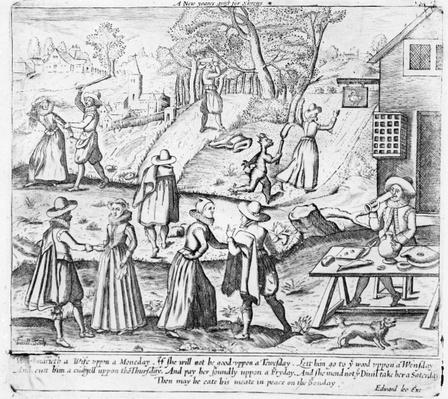 A New Year's Gift for Shrews, pub. by Edward Lee, c.1620