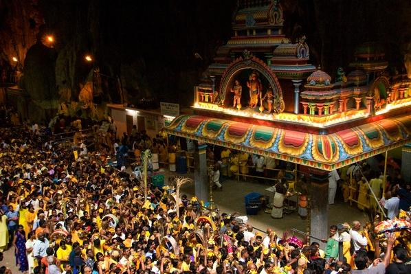 Crowds flocking to shrines in Batu Caves for  Thaipusam festival | World Religions: Hinduism