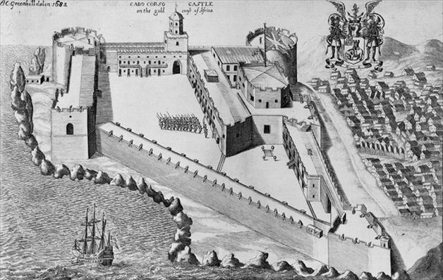 Cabo Corso Castle on the Gold Coast of Africa, 1682
