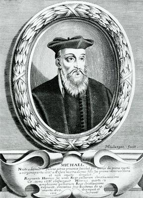 Portrait of Michel de Nostredame