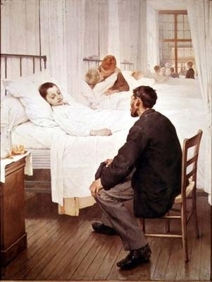 Visiting Day at the Hospital, 1889