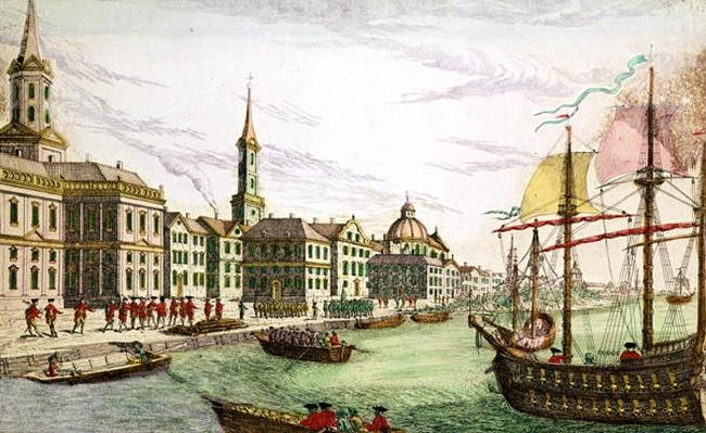 Disembarking of the English Troops at New York, 29th June 1776