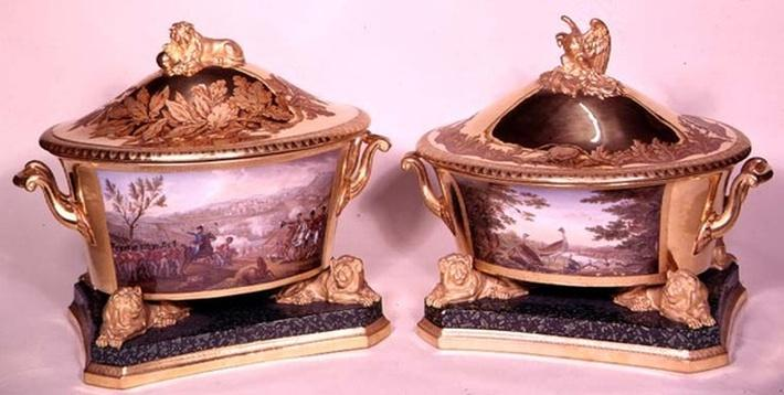 Two tureens from the Prussian Dinner Service, Berlin, 1816-19