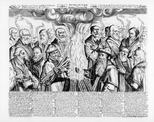 'Faith's Victory in Rome's Cruelty', a propaganda poem in memory of Protestant martyrs
