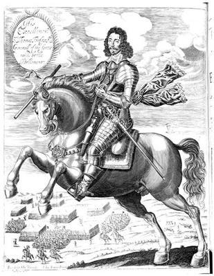 Equestrian portrait of his Excellency Sir Thomas Fairfax