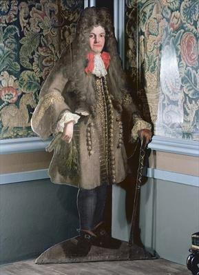 Dummy board figure of a man, c.1690