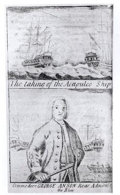 The Taking of the Acapulco Ship, 20th June 1743