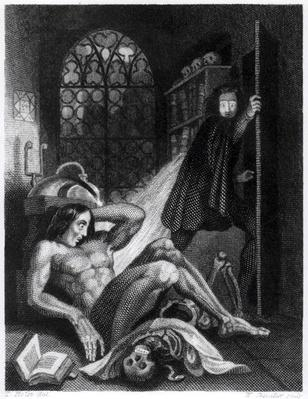 Illustration from 'Frankenstein' by Mary Shelley