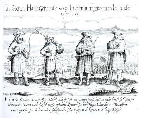 In Such Attire did 800 Irishmen