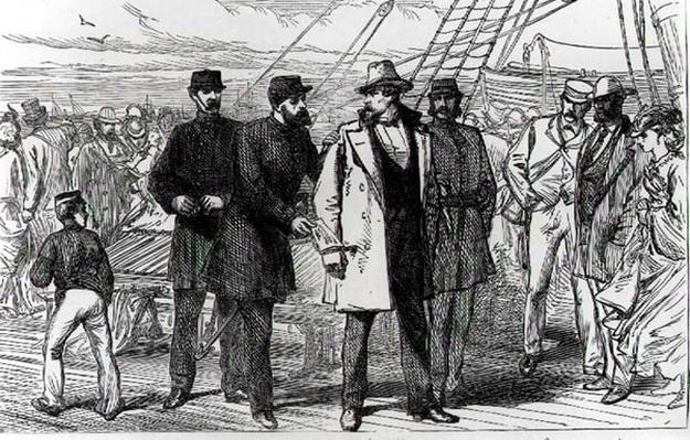 The Arrest of Charles O'Connell, a Fenian Leader