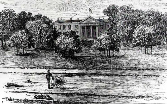 The Murder of Lord Frederick Cavendish and T. H. Burke in the Phoenix Park, Dublin in 1882