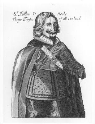 Portrait of Sir Phillom O'Neale