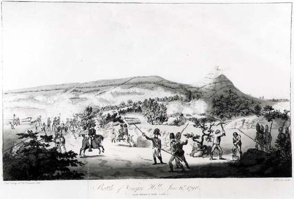 The Battle of Vinegar Hill, June 21st 1798, engraved by Henry Brocas