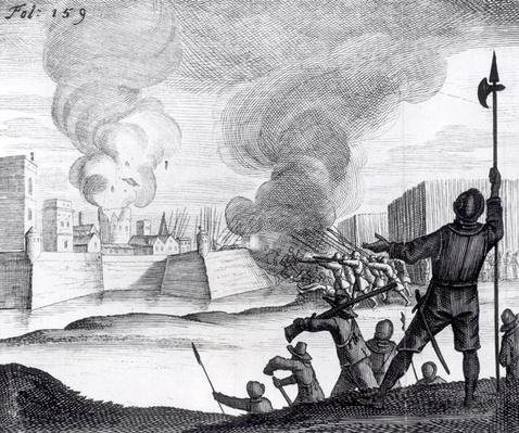 Oliver Cromwell Besieges the Drogheda in 1649-50