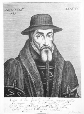Portrait of John Foxe