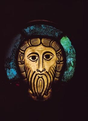 Head of Christ, from the Abbey Church of SS. Peter and Paul in Wissembourg, c.1070