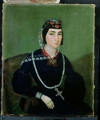 Portrait of Princess Salome Chavchavadze