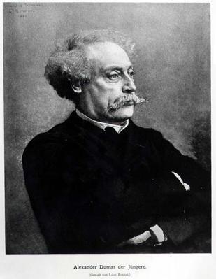 Portrait of Alexander Dumas fils