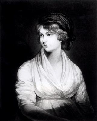 Portrait of Mary Wollstonecraft Godwin