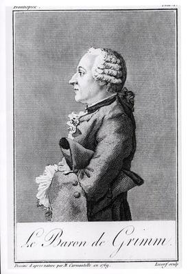 Baron Friedrich Melchior Grimm