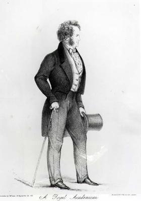 A Royal Academician, a Portrait of Charles Landseer