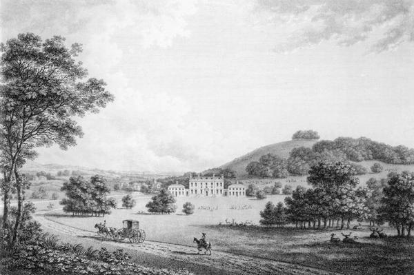 Godmersham Park, Kent, the Seat of Thomas Knight Esq., pub. in 1785